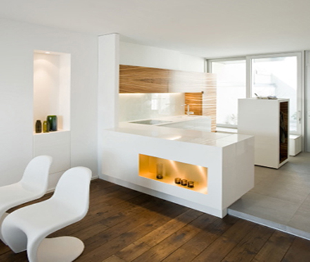 <span>Zebrano Kitchen Full View</span><i>→</i>